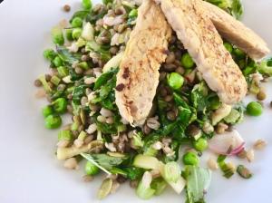 Tempeh salad.