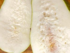 White mango flesh. The Mat Movement luxury yoga retreats, online yoga classes and inspiring plant-based recipes.