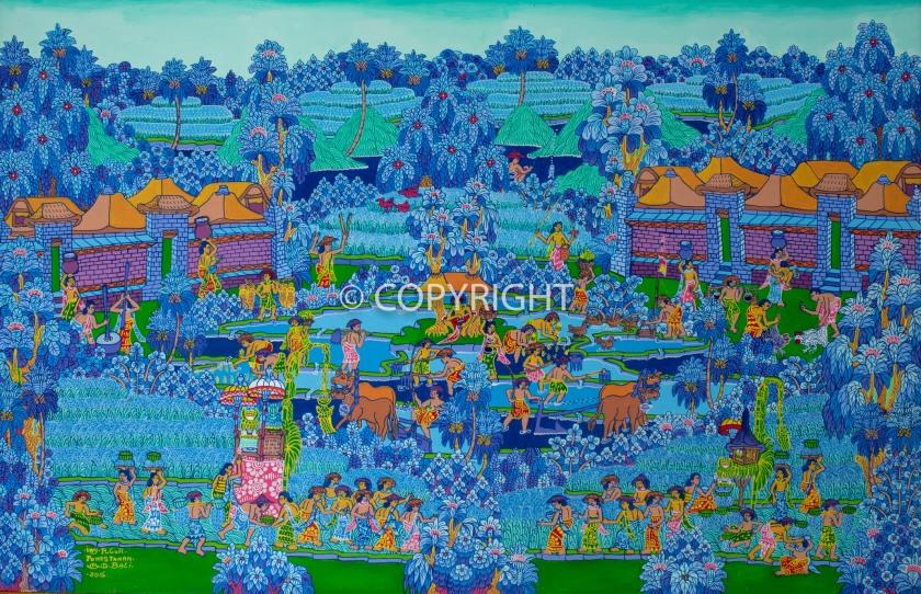 Balinese-art-acrylics-i-wayan-pugur-painting-1502