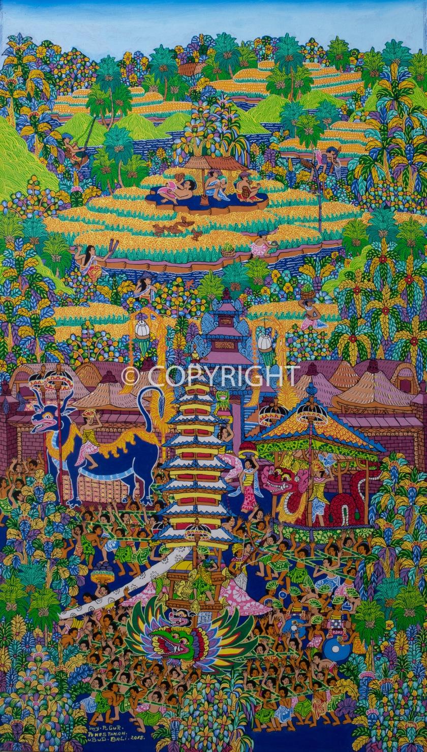 Balinese-art-acrylics-i-wayan-pugur-painting-1503