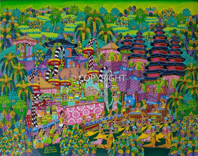 Balinese-art-acrylics-i-wayan-pugur-painting-1507